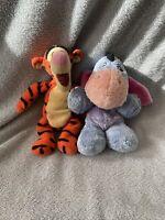 "Disney - Eeyore & Tigger Soft Plush Toy Bundle - Winnie The Pooh - 8"""