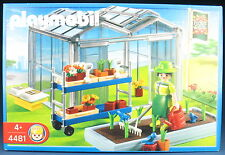 PLAYMOBIL 4481 - Gewächshaus - Greenhouse  - 2004 - NEU & OVP - New MISB