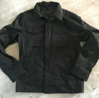 Banana Republic Women's Medium Black Zip / Snap Up Jacket