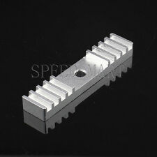 Aluminum Fixed Holder 15*70mm for HTD5M 5M GT5 Timing Open End Belt Connector