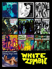 "WHITE ZOMBIE album discography magnet (4.5"" x 3.5"") pantera monster magnet tool"