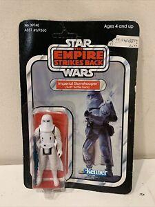 Star Wars Imperial Stormtrooper (Hoth) Action Figure - ROTJ Kenner 41 Back MOC