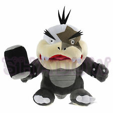 "Super Mario Bros 7"" Morton jr. Koopa Bowser Koopalings Plush Toy Doll Kids Gift"