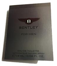 Bentley For Men 0.06 oz 1.8 ml Eau De Toilette Spray Mini/Travel Sample Vial