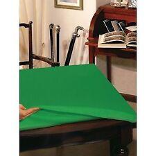 Copritavolo panno verde gioco tavolo rettangolare cm 135x160 poker texas hold'em