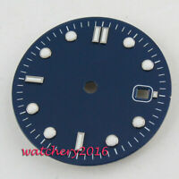 Fashion 31MM Sterile Blue Watch Dial fit 2824 2836 miyota 8215 8205 movement