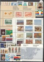 I3634/ CANADA – 1982 / 1986 MINT MNH COLLECTION – CV 190 $