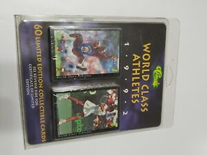1992 Classic World Class Athletes Set Limited Edition 60 Card Set FACTORY SEALED
