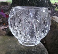 Vintage Avon Clear Glass Bowl