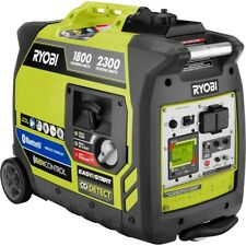 Ryobi RYI2300BTA 2300-Watt Gasoline Powered Bluetooth Inverter Generator
