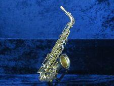 Julius Kielwerth St 90 Alto Saxophone Ser#655622 Plays Well Minor Pull Down.