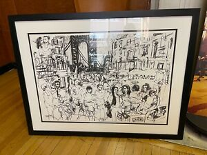 HEIGHTSTRAVAGANZA: In The Heights TODD DICIURCIO Framed Ltd Ed Art Print