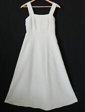 Country Road Australia Dress Sleeveless Maxi Silk/Linen Tan Size 6