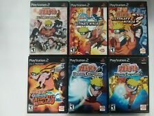 Shonen Jump Naruto games (Sony Playstation 2) PS2 TESTED