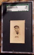 1924-25 Aguilitas 2da 849 Jose Mendez HOF Cuban *Star* Negro Lg SGC 50 Pop 1 w1^