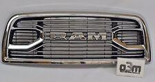 2016-2017 Dodge Ram 2500 3500 Laramie Front Chrome Grille w/ RAM Center new OEM