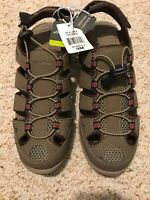 Eddie Bauer Womens Hiking/Walking Sandals Leather  Blakely Shitake 9M