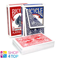 BICYCLE RIDER BLUE OR RED DOUBLE BACK NO FACE MAGIC TRICKS PLAYING CARDS DECK