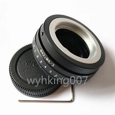 Tilt M42 Lens To Micro 4/3 M4/3 Micro four thirds Adapter GF2 GH5 GH4 G10 EP1 G5