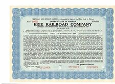 Specimen: Erie Railroad Company 50000 $Bond