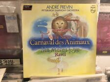 Andre Previn- Carnaval Des Animaux LP- Ravel/Pittsburgh Symphony Orchestra!!!!!!