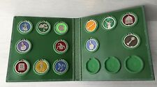 Vintage Collectible Album with 13 Different Shrek Medallions DreamWorks 2009 DWA