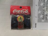 "RARE COCA-COLA COLLECTIBLES """"COLLECTOR PINZ"" 1997 COKE EMBLEM/3 BOTTLES OF COKE"