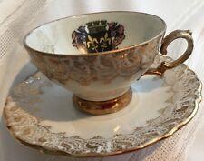 Vnt Souvenir Espresso Cup Saucer Bone China Traunstein Sulzer Germany*
