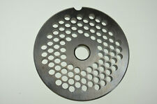"#12 x 3/16"" (4.5mm) Stainless meat grinder plate for Lem 2 3/4"" diameter"