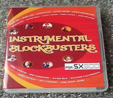 INSTRUMENTAL BLOCKBUSTERS USB - 800 terrific registrations for PSR-SX900