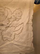 Open Cutwork Fancy Embroidery 27�Euro Pillow Sham 100% Cotton New