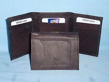 DUKE BLUE DEVILS   Leather TriFold Wallet    NEW    dkbr 3  m1