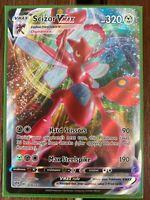 Pokemon Card  SCIZOR VMAX  Ultra Rare 119/189 DARKNESS ABLAZE *MINT