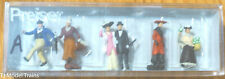 Preiser HO #12138A 1900s Figures -- Travelers & Passers-By