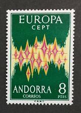 MOMEN: ANDORRA CEPT # 1972 MINT OG NH $150 SINGLE LOT #2913