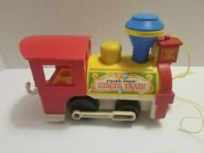 Vintage Fisher-Price Little People Circus Train Engine Car Replacement