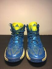 Adidas  Crazylight 3 Mens Size 10 Pride Blue Electricity White Basketball Shoes