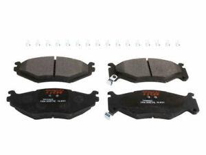 Front Brake Pad Set For 1991-1993 Chrysler LeBaron 1992 P619VM Premium Metallic