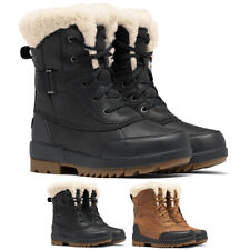 Ladies Sorel Torino II Parc Boot Winter Warm Snow Cozy Faux Fur Durable Boots
