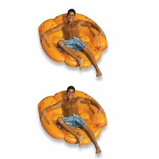 "Swimline Giant Inflatable 62"" Baseball Glove Swimming Pool Float (2 Pack)"