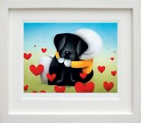 DOUG HYDE  'HEAD OVER HEELS'  NEW  FRAMED LIMITED EDITION GICLEE PRINT