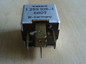 STRIBEL MAIN CURRENT RELAY 1 259 926-1 6807 for VOLVO 780 240 260 740 760 940