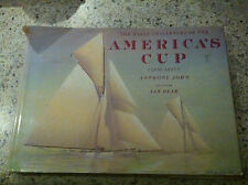 THE EARLY CHALLENGES OF AMERICAS CUP 1851-1937 SAILING YACHT RACING BOAT ART