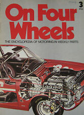 On Four Wheels magazine Issue 3 featuring Alfa Romeo cutaway drawing, Allard