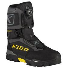 Klim Men's Klutch Gtx Boa Snowmobile Boot Black 10 11 12 13 14 3112-000-Xxx-000