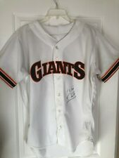 1990 Will Clark San Francisco Giants Game Used Worn Jersey Rawlings Autographed