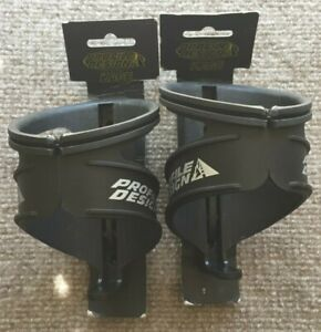 2 x Profile Design Nylon Kage Water Bottle Cage with Retention Band: Black