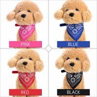 Pet Dog Cat Puppy Collar Bandana Triangle Scarf Pet Neckerchief Adjustable