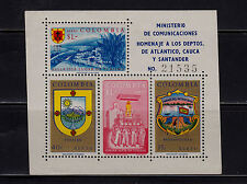 Colombia - 1960 - SC C409 - H - Souvenir Sheet - See Description - Air Post