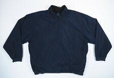 Nike Golf Therma Fit Navy Blue Black Reversible Half Zip Pullover Jacket Mens L